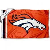 Denver Broncos 2x3 Feet Flag