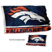 Denver Broncos Allegiance Flag
