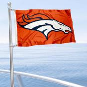 Denver Broncos Boat and Nautical Flag