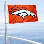 Denver Broncos Boat and Nautical Flag