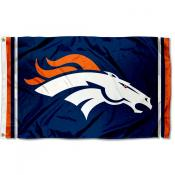 Denver Broncos Logo Flag