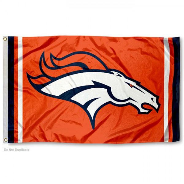 Denver Broncos Orange Flag And Denver Broncos Orange Flags
