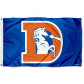 Denver Broncos Throwback Flag