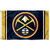 Denver Nuggets Pickaxe 3x5 Flag