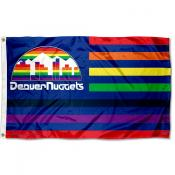 Denver Nuggets Skyline Nation Flag