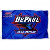 DePaul Big East Logo Flag