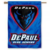DePaul Blue Demons House Flag