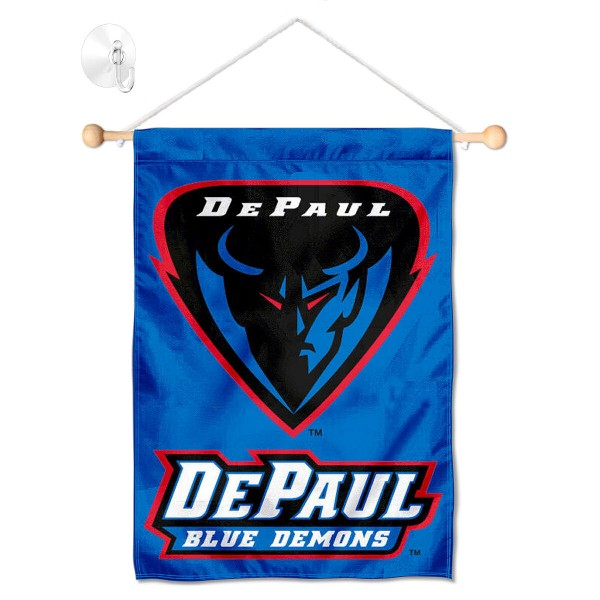 DePaul Blue Demons Window and Wall Banner