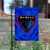 DePaul Blue Garden Flag