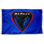 DePaul Logo Outdoor Flag