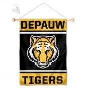 DePauw Tigers Window and Wall Banner