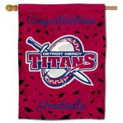 Detroit Mercy Titans Congratulations Graduate Flag