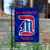 Detroit Mercy Titans Garden Flag