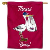 Detroit Mercy Titans New Baby Flag