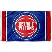 Detroit Pistons Logo 3x5 Flag