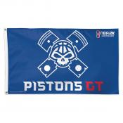 Detroit Pistons Pistons GT NBA2K Gaming Flag