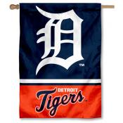 Detroit Tigers Double Sided House Flag