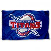 Detroit Titans Flag