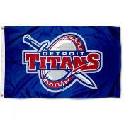 Detroit Titans Flag