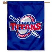 Detroit Titans House Flag