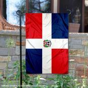 Dominican Republic Double Sided Garden Flag