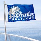 Drake Bulldogs Boat and Mini Flag