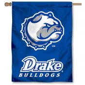 Drake University Bulldogs Logo House Flag