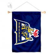 Drexel Dragons Banner with Suction Cup
