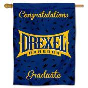 Drexel Dragons Congratulations Graduate Flag