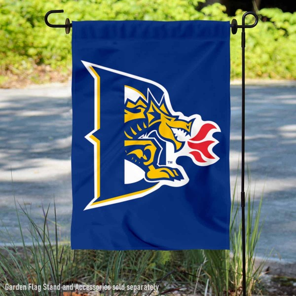 Drexel University Garden Flag is 13x18 inches in size, is made of 2-layer polyester, screen printed Drexel University athletic logos and lettering. Available with Same Day Express Shipping, Our Drexel University Garden Flag is officially licensed and approved by Drexel University and the NCAA.