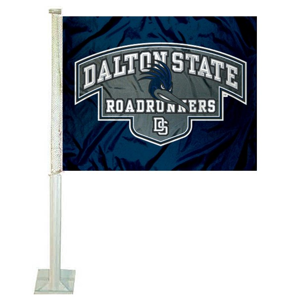DS Roadrunners Logo Car Flag measures 12x15 inches, is constructed of sturdy 2 ply polyester, and has screen printed school logos which are readable and viewable correctly on both sides. DS Roadrunners Logo Car Flag is officially licensed by the NCAA and selected university.