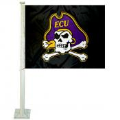 East Carolina Pirates ECU Pirate Car Flag