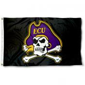 East Carolina Pirates ECU Pirate Head Flag