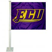 East Carolina Pirates Logo Car Flag