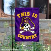 East Carolina University Country Garden Flag