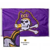 East Carolina University Nylon Embroidered Flag