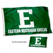 Eastern Michigan Eagles Wordmark Flag