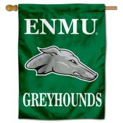 Eastern New Mexico Greyhounds Double Sided House Flag