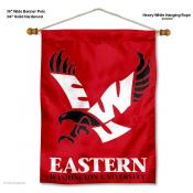 Eastern Washington Eagles Wall Banner