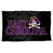 ECU Pirates Black Flag