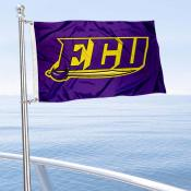 ECU Pirates Boat and Mini Flag