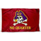 ECU Pirates No Quarter Flag