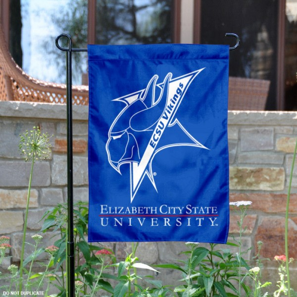 Elizabeth City State ECSI Garden Flag is 13x18 inches in size, is made of 2-layer polyester, screen printed Elizabeth City State ECSI athletic logos and lettering. Available with Same Day Express Shipping, Our Elizabeth City State ECSI Garden Flag is officially licensed and approved by Elizabeth City State ECSI and the NCAA.