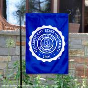 Elizabeth City State University Academic Logo Garden Flag