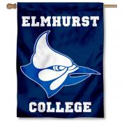 Elmhurst Bluejays House Flag