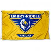 Embry Riddle Eagles Gold Flag