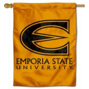 Emporia State Hornets Double Sided House Flag