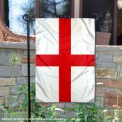 England Double Sided Garden Flag