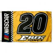 Erik Jones 3x5 Large Banner Flag