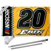 Erik Jones Flag Pole and Bracket Mount Kit